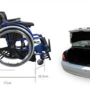 Foshan fauteuil roulant FS723LQF1 Loisirs SPORT Manuel fauteuils roulants pour les personnes handicapées et les personnes âgées NOUVEAU 3